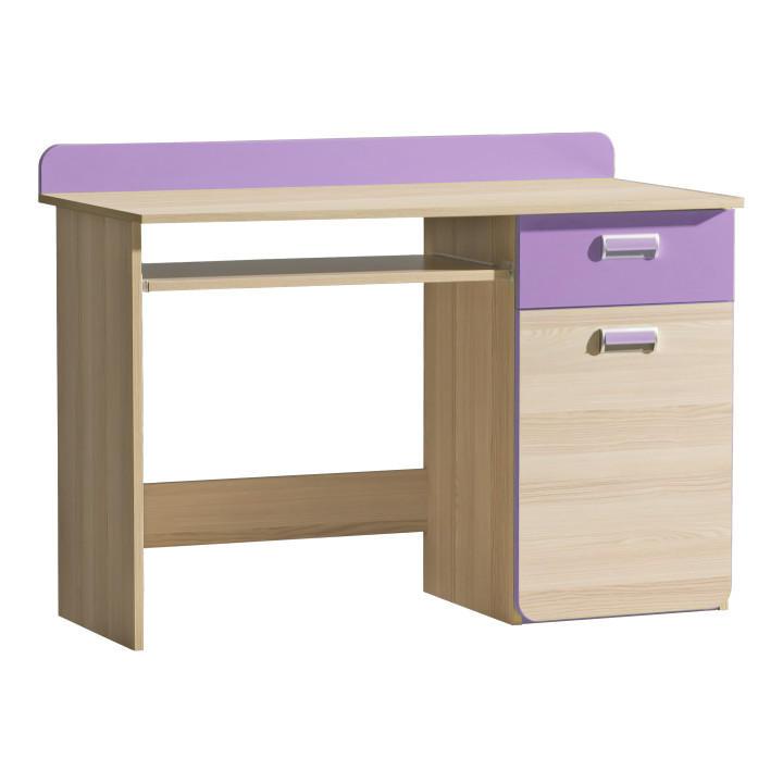 PC stolík L10 (fialová)