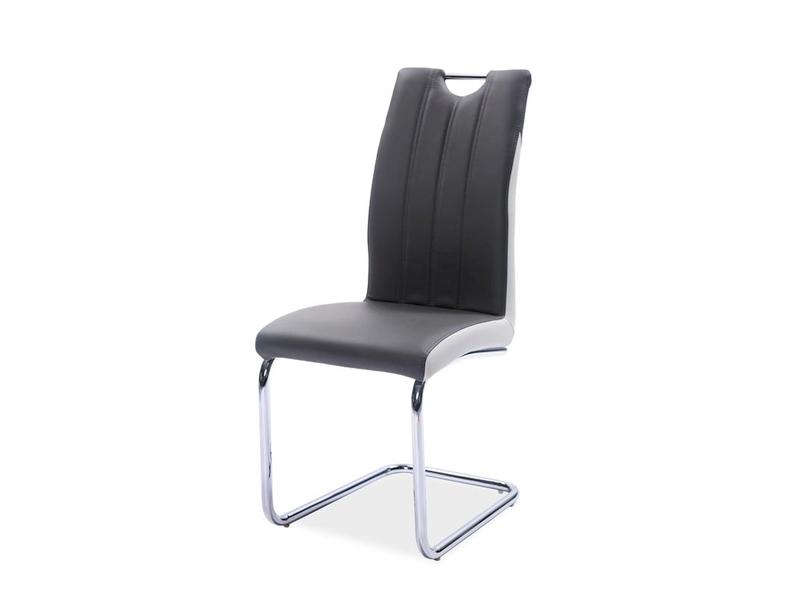 HK-342 jedálenská stolička, sivá