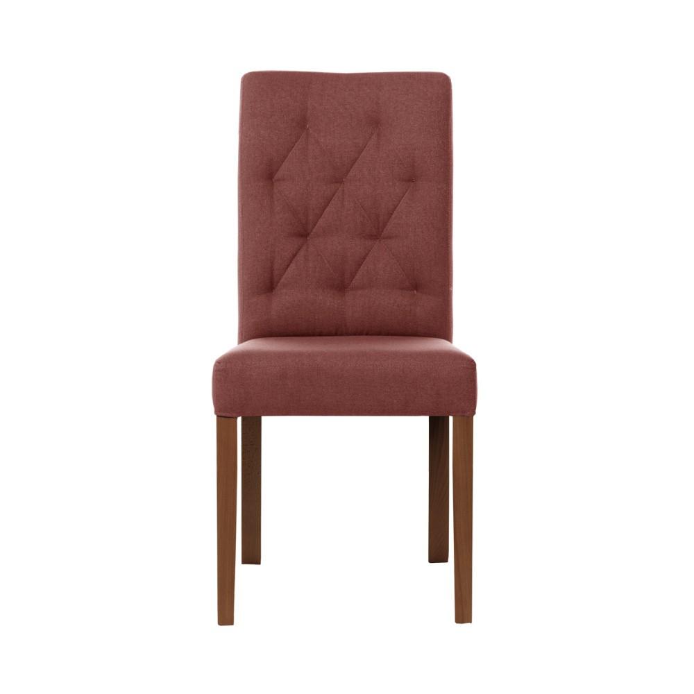 Tehlovočervená stolička Rodier Alepine
