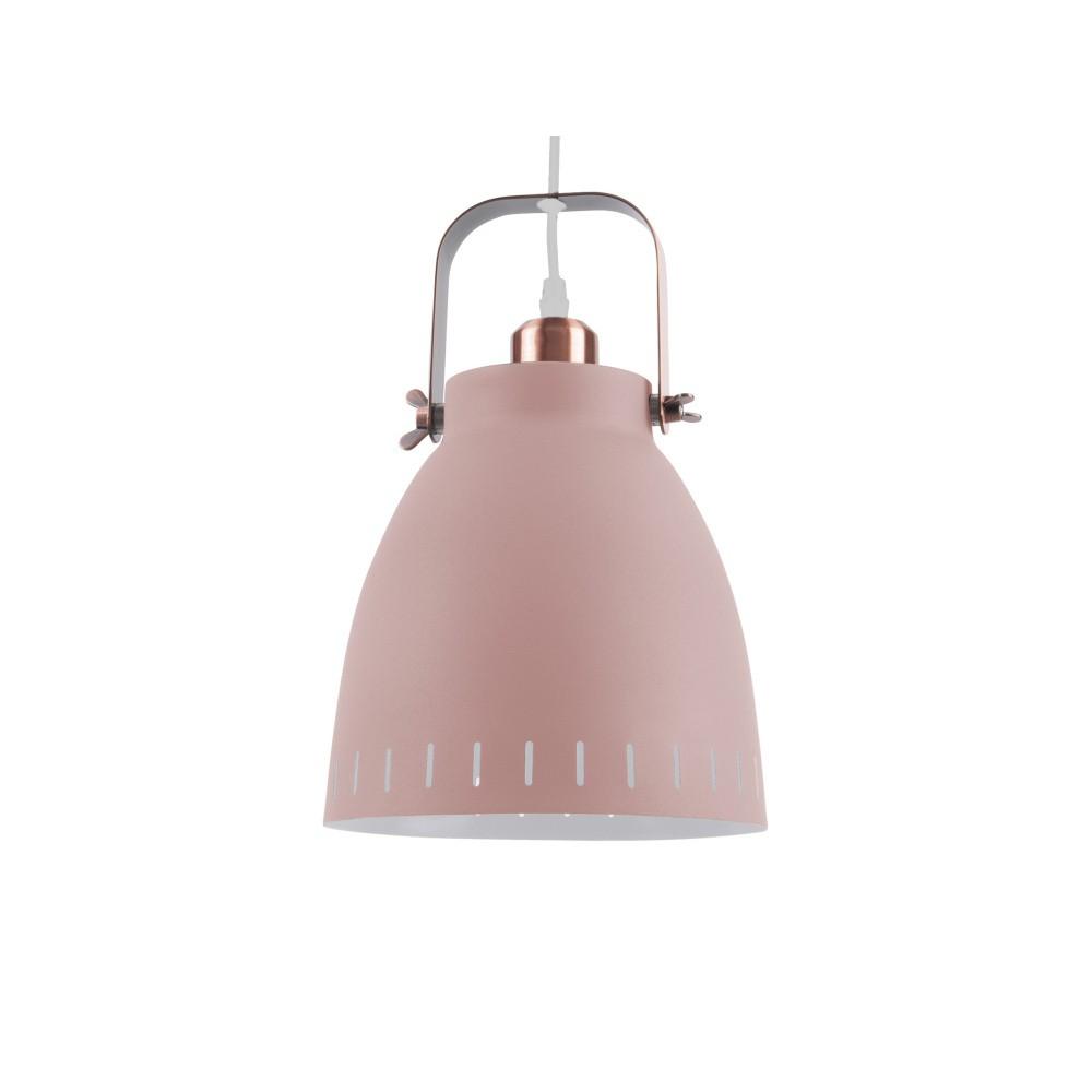 Ružové stropné závesné svietidlo Leitmotiv Mingle