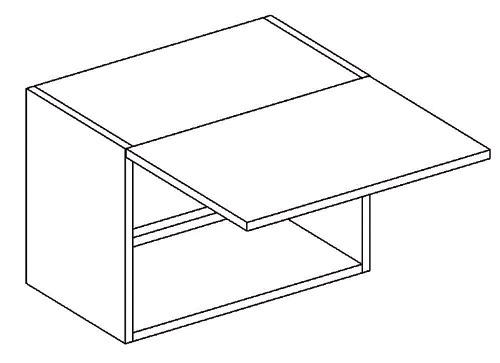 Horná výklopná skrinka výška 35 WO50 LUCCY