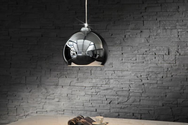 Visiaca lampa CASSIOPEJA - strieborná