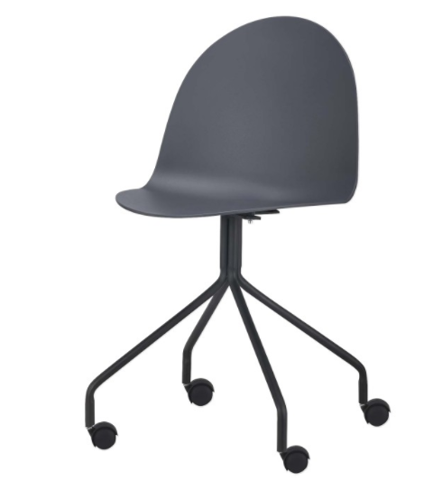 Kancelárska stolička Bruna   Farba: tmavosivá