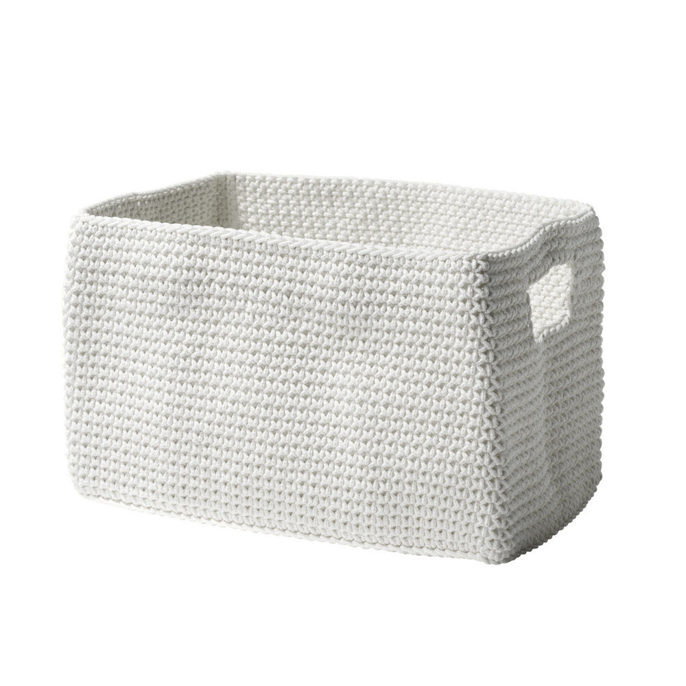 Košík Confetti White, 22 cm