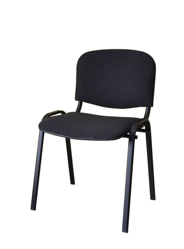 Čalúnená stolička ISSO, čierna