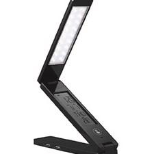 USB LED multifunkčná stolná LED lampička s displej,