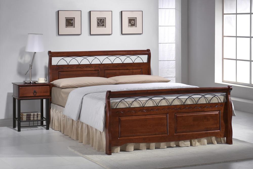 Manželská posteľ 160 cm Verona (s roštom)