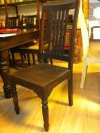 Furniture nábytok  Masívna stolička z Palisanderu  Záher  45x45x112 cm