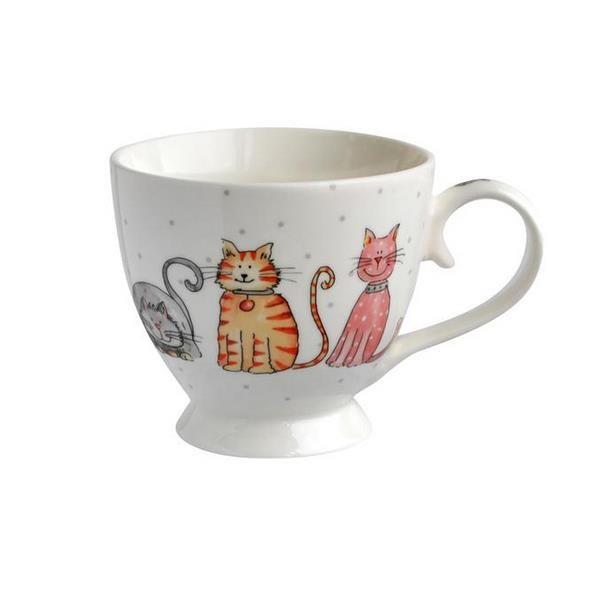 Toro Porcelánový hrnček Mačka 420 ml