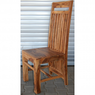 Furniture nábytok  Masívna stolička z Palisanderu  Párs  45x46x112 cm