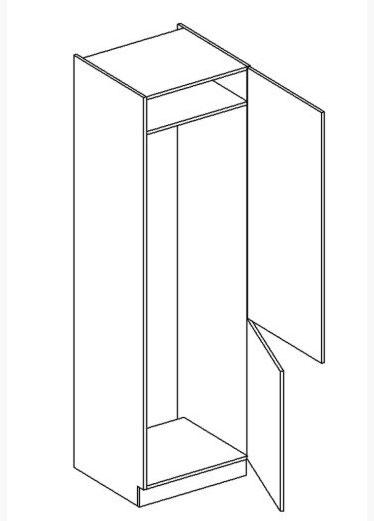 JUSTINA skrinka na vstavanú chladničku D60LO PL