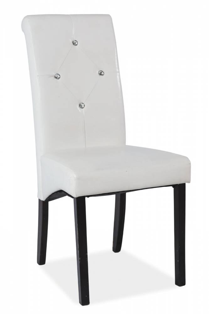Jedálenská stolička C-121 (biela)