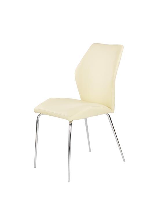 Jedálenská stolička K253 (vanilka)