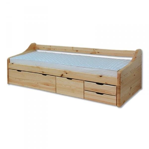 Jednolôžková posteľ 90 cm LK 131 (masív)