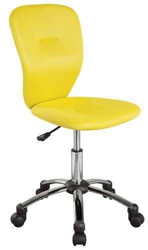 Kancelárska stolička Q-037 žltá