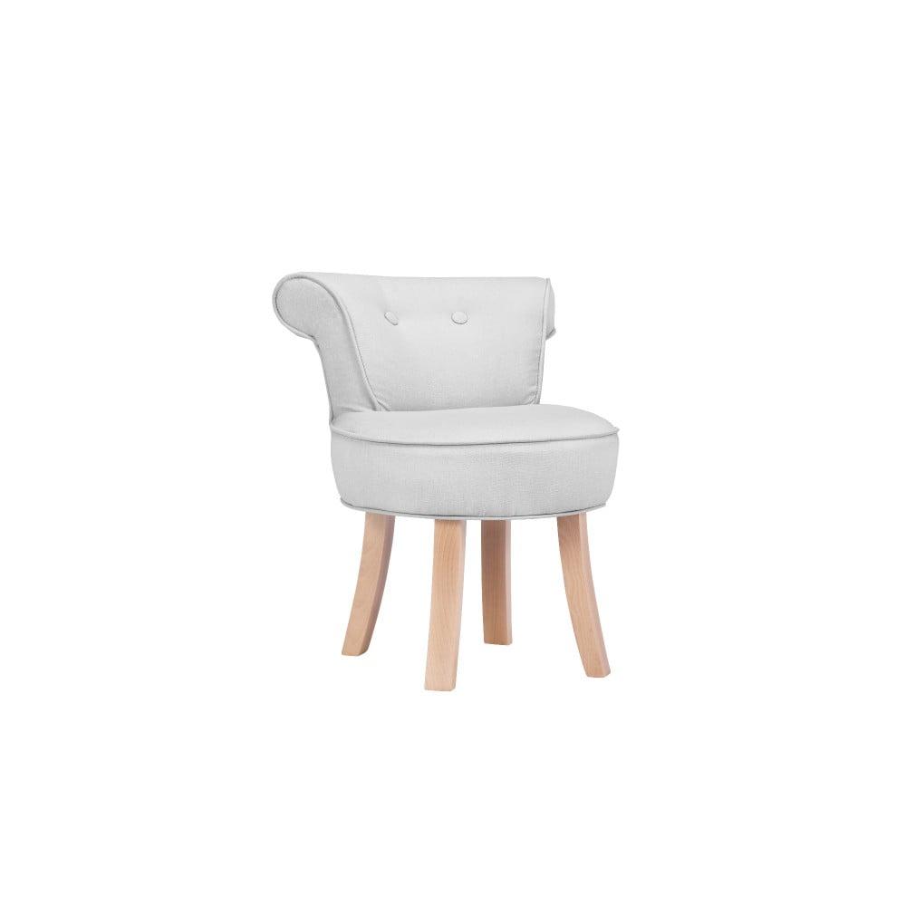 Svetlosivá detská stolička KICOTI Sweety