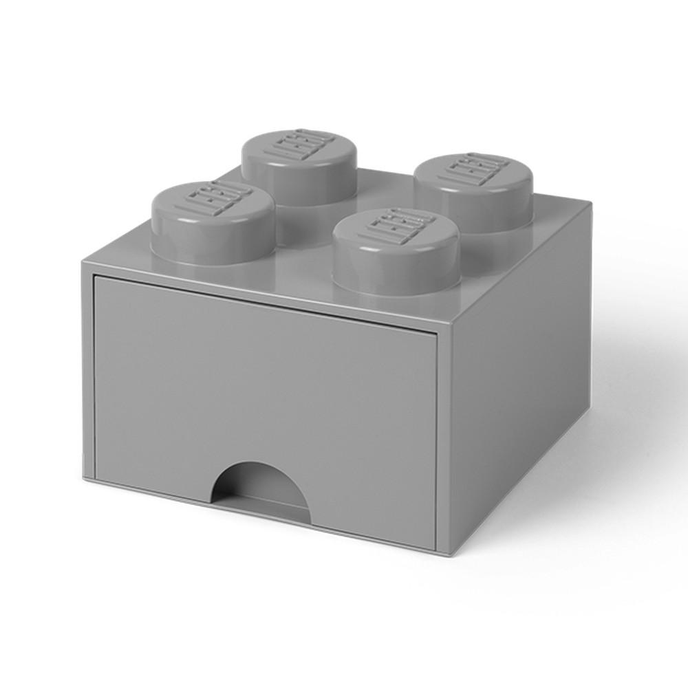 620783599 ... Krabice a úložné boxy; Sivý úložný box štvorec LEGO®. Sivý úložný box  štvorec LEGO®