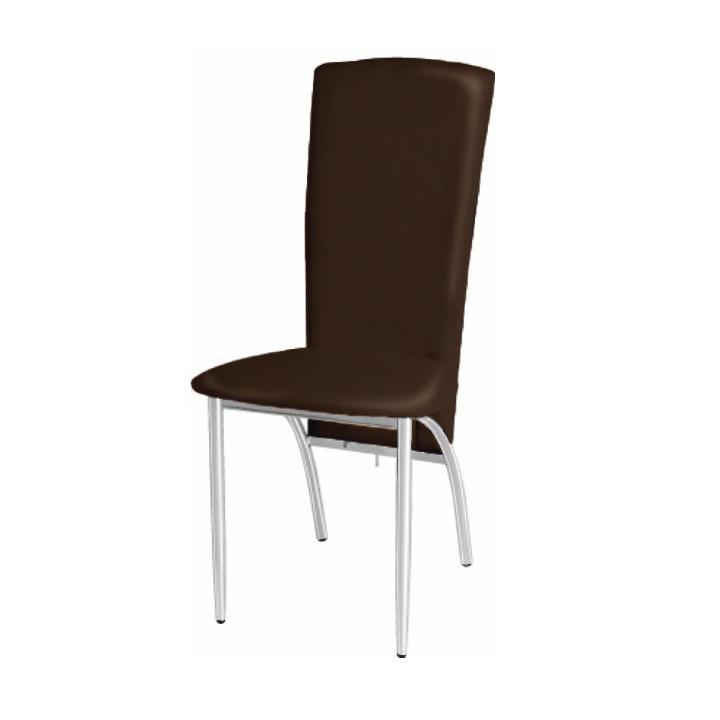 Jedálenská stolička Fina hnedá