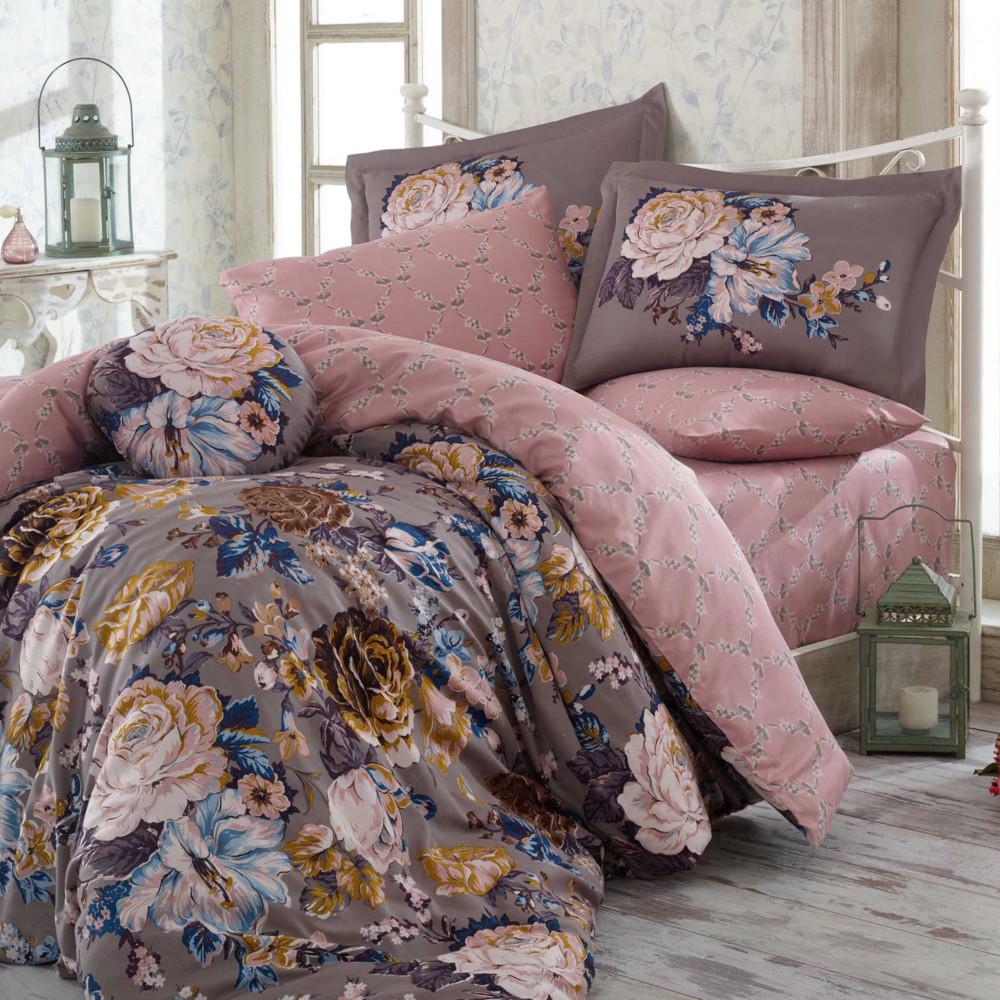Obliečky s plachtou Rosanna Grey, 200x220cm