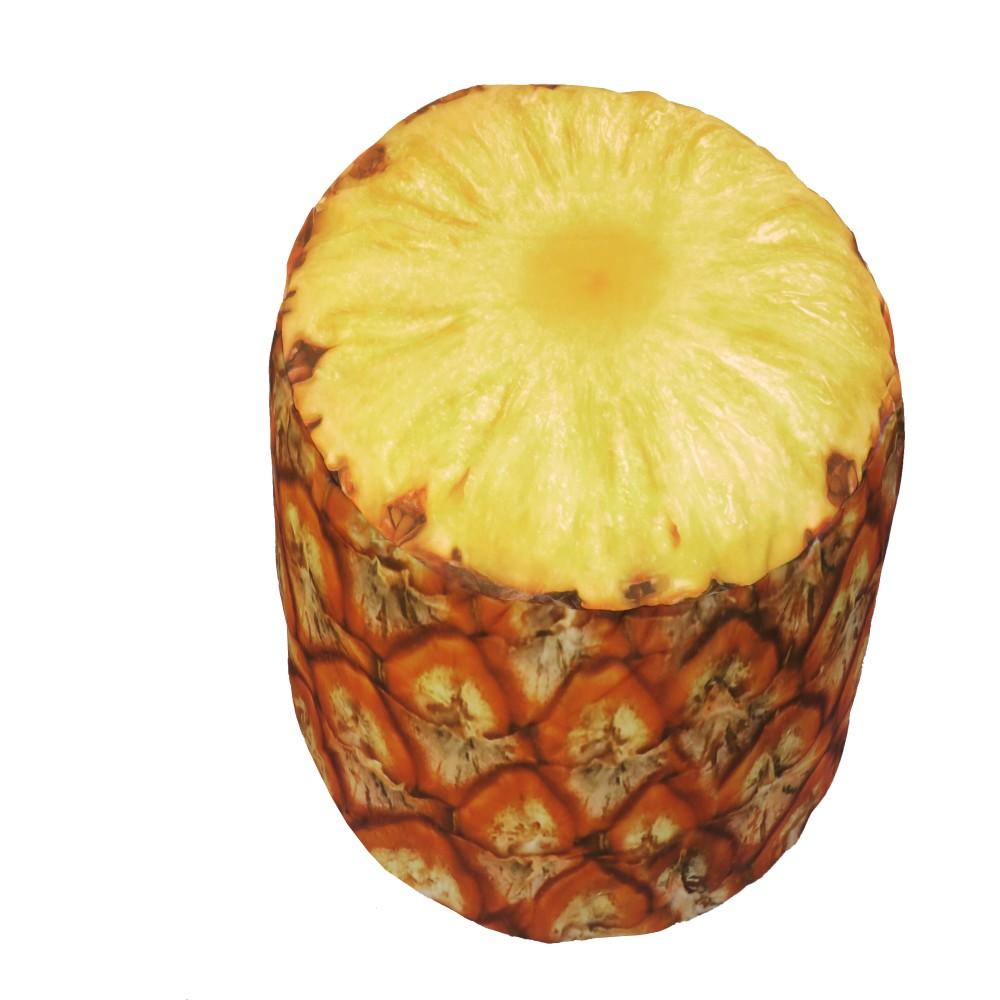 Nafukovací puf v tvare ananásu Sunvibes