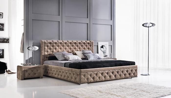Čalúnená posteľ ROMA, 140x200 cm
