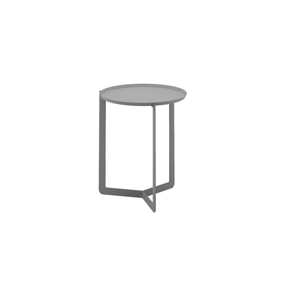 Svetlosivý príručný stolík MEME Design Round