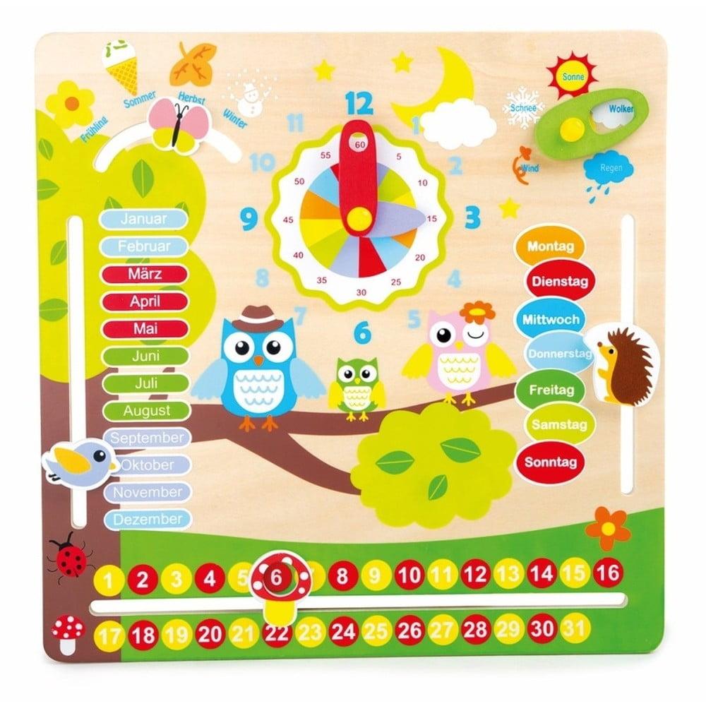 Drevená výuková hračka pre 4 ročné obdobia Legler Seasons