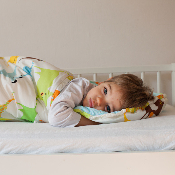 Detský spací vak Bartex Farebné zvieratká, 70x180cm