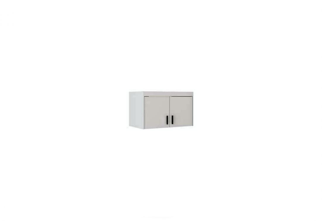 Nástavec na šatní skříň ELLENA 2D, 90x55x53, bílá