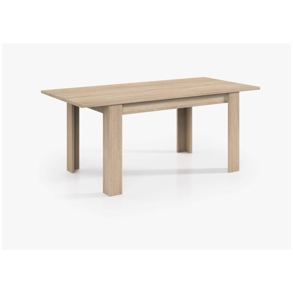 Drevený jedálenský stôl Evegreen Houso Smile, 140 x 90 cm
