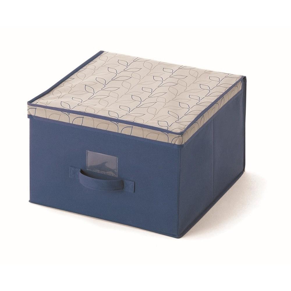 Modrý úložný box Cosatto Bloom, šírka 40cm