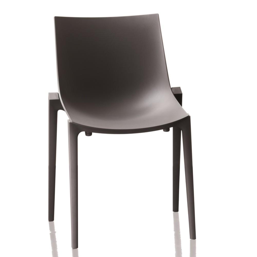 Čierna stolička Magis Zartan