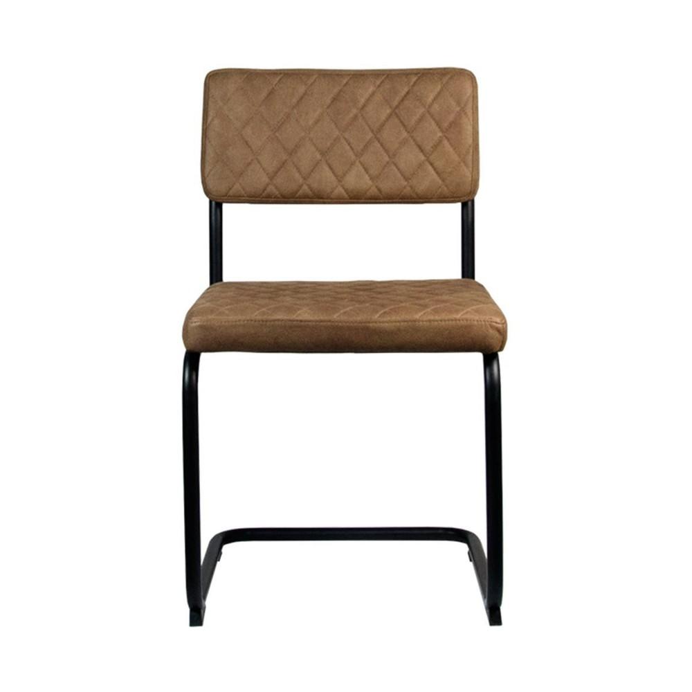 Hnedá jedálenská stolička LABEL51 Bow