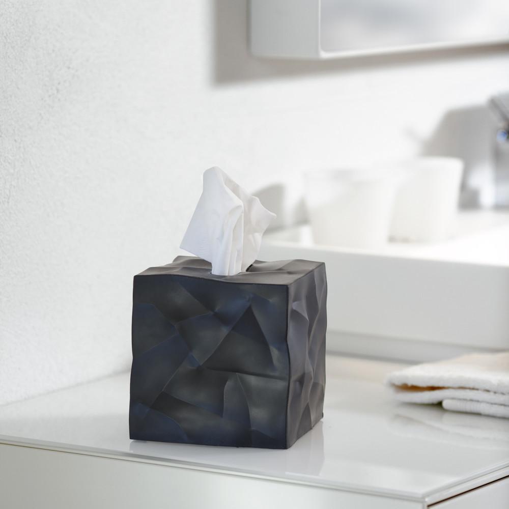 Box na vreckovky Wipy Cube Black