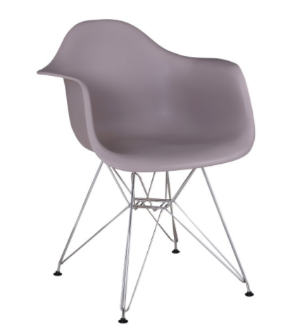 Jedálenská stolička Feman New   Farba: Tepla sivá
