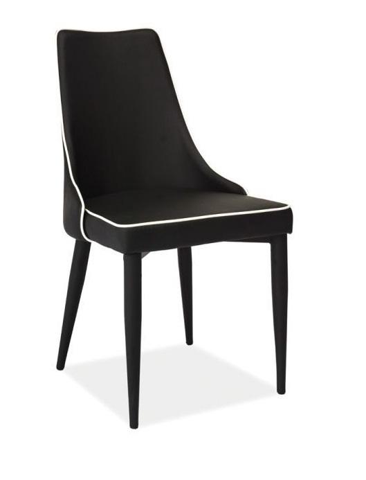 SIGNAL SOREN jedálenská stolička - čierna