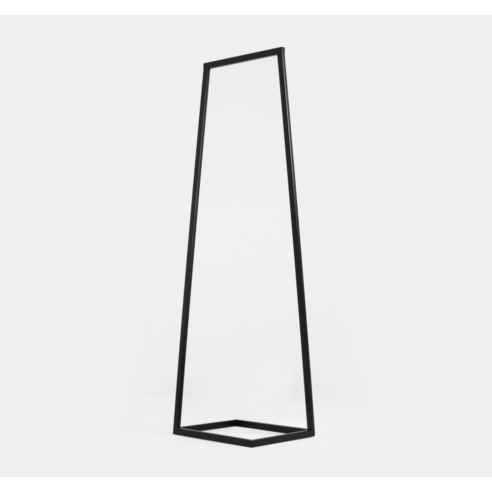 Čierny vešiak Custom Form Hall, šírka 50 cm