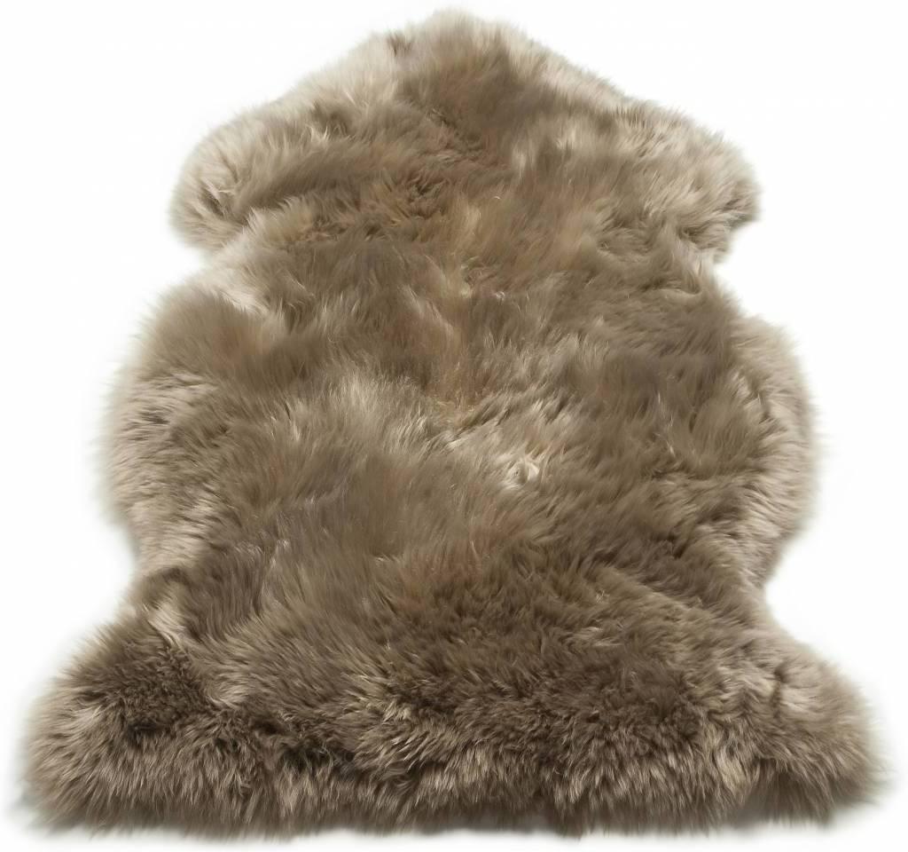kožušina Sexto Sheepskin - sivobéžová