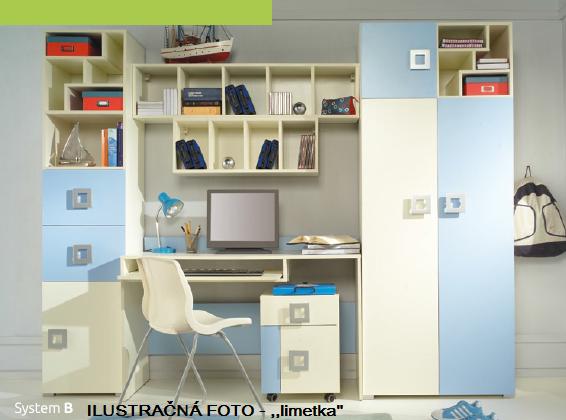 Detská izba Labirynt B | zelená