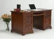 Furniture nábytok  Masívny písací stôl z Palisanderu  Setáre  156x60x78 cm