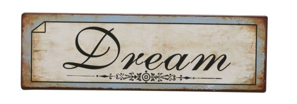 Bighome - Ceduľa DREAM