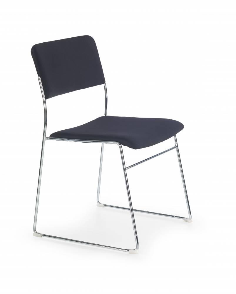 Konferenčná stolička Vito (čierna)
