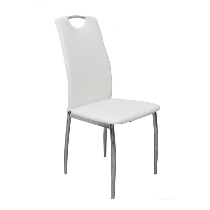 Jedálenská stolička Ervina (biela)