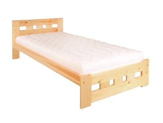 Jednolôžková posteľ 90 cm LK 145 (masív)