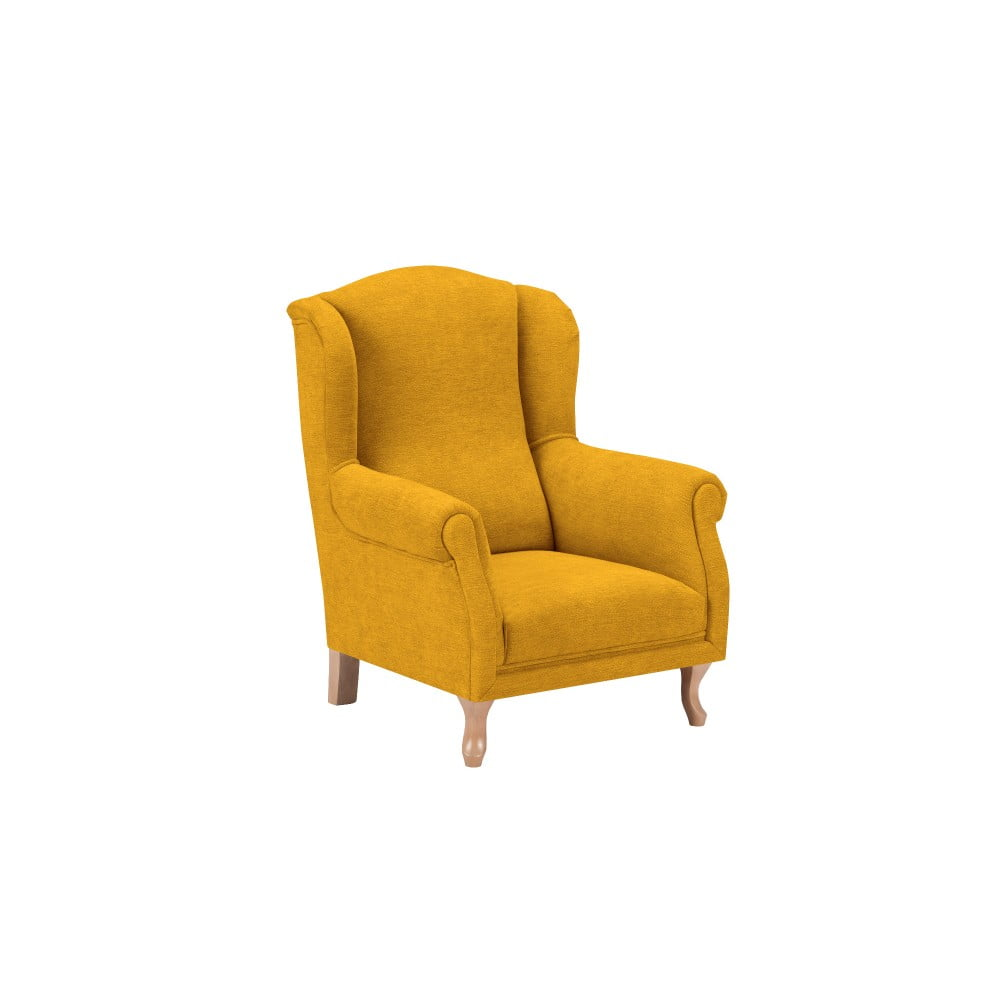 Žlté detské kresielko KICOTI Comfort