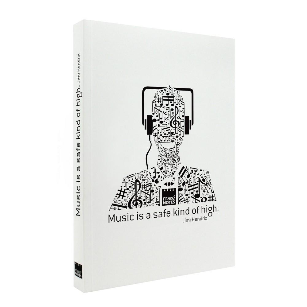 Zápisník Makenotes Music, A6