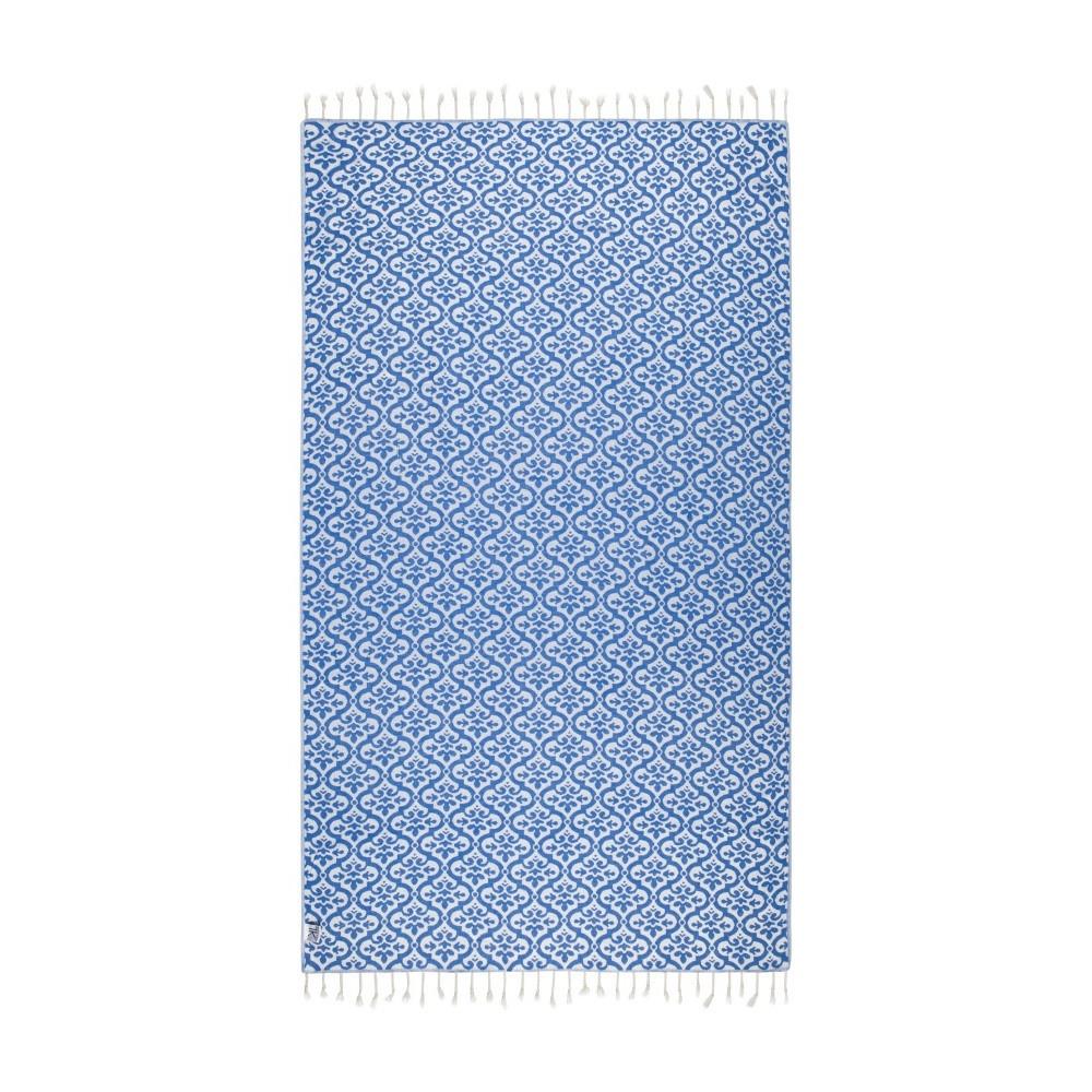 Modrá hammam osuška Kate Louise Bonita, 165x100cm