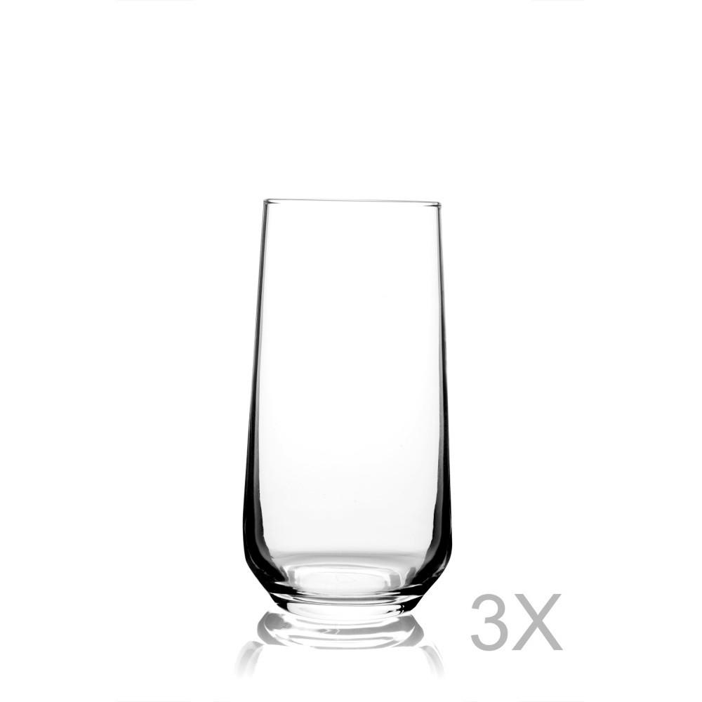 Sada 3 pohárov Pasabahce, 470 ml