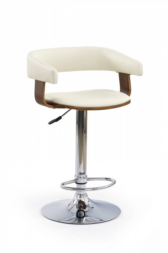 Barová stolička H-12 Orech Béž