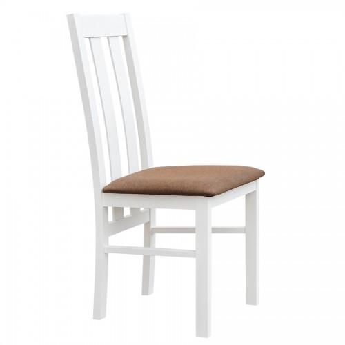 Biely nábytok Stolička Belluno Elegante 10, čalúnenie MINI 529
